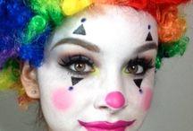 Maquiagem Palhaços