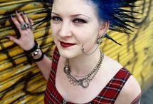 Punk (Sub Culture) / Examples of Punk fashion.