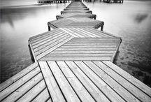 Pier -dock -iskele / ıslanmadan yürümek