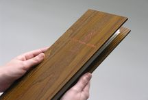 wooden menus