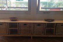 Möbel selbstgebaut