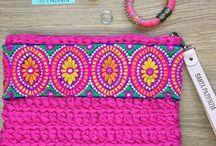 Crochet y tela
