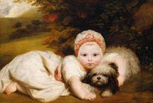 Portrait Paintings -Babies/Children