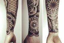 tatoo braço parte de baixo