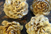 Pinecone crafts