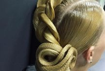Cabello: peinado fantasía