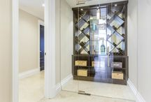 Wine Cellars / Designed, Manufactured and Fitted by Mitchell and Stanley.