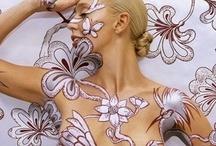 Body Art ( ink 'n paint ) / by fairywingsandtutus