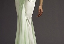 Love of extravagant gowns