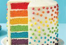 Birthdays rainbow theme