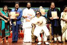 Ravindra Jain Birthday Celebration 28-Feb 2015 / Dadu celebrated his 71st birthday with friends and fans at Shanmukhanad Hall.