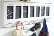 Chalkboards - Let's Get Organized / Part of our Thirty Day Challenge