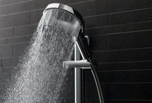 Methven Satinjet and Aurajet Showers / Satinjet and Aurajet are Methven's cutting edge showering technology that, through angled jets, create vastly more individual water drops - resulting in a better shower experience.