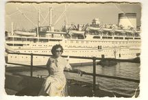 1950S AND EARLY 1960S FASHION IN B/W GENOA, ITALY / GIULIA DE GIOVANNI, MY MOTHER'S FASHIONABLE ATTIRE THROUGH PHOTOGRAPHS, A TALENTED DRESSMAKER IN 1950's GENOA