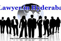 Lawyers in Hyderabad / To contact anyone of the lawyers from Hyderabad go through the link http://www.pathlegal.in/lawyers/Hyderabad/
