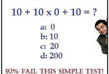 Quiz  / I love quiz and different math and Gs questions. I will share this with you daily.  / by manish