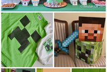 minecraft party / by Michelle Klos