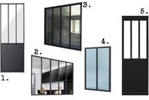 Porte e finestre in ferro + vetro