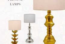 Lighting- Premium Lamps & Pendents / Lighten up your living spaces with distinctive and premium lamps online with INV Home.