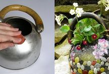 Giving new life to old teapot