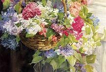 kosze kwiatów