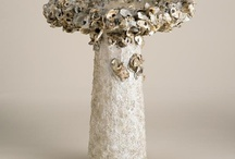 shell art ... in the garden / by Agnes Strauss