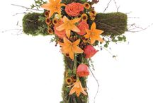 Floralsympathy / Ideas and Inspiration for Funeral Arrangements + Stationery work by Floralsympathy. Visit: http://www.zazzle.com/floralsympathy