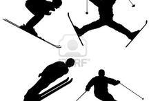 siluetit urheilu