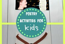 Poetry Activities for Kids / Roses are red, violets are blue, find all your poetry needs on this board too!