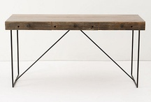 Furniture - Dining (Tables) / by Claudia
