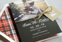 Holiday Save the Dates / You want to send save the date cards and holiday cards, but you're short on time and on money. Psst…we have a little secret to share with you. You can send holiday card save the dates! Choose from a variety of adorable designs with festive holiday messages and a shout-out for your upcoming wedding. Your friends and family will be delighted to receive these save the date greeting cards in the mail, and they'll have two very good reasons to hang them up on the refrigerator.