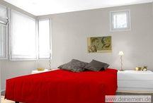 Farbgestaltung - Schlafzimmer / Wie wirkt sich die Farbgestaltung im Schlafzimmer aus.