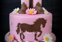 pasteles,fiesta cowgirl
