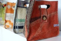 Bags - Crocheted, Knitted, Felted, Sewn