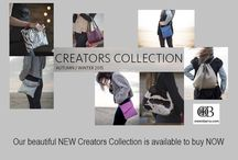 Creators Collection of Handbags / Beautiful Suede, Leather & Cowhide Handbags - 100% British - Made in Somerset