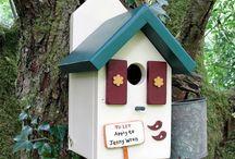 handmade bird houses uk