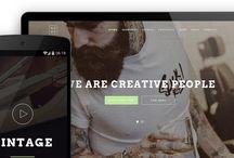 Webdesign: Inspiration + tips