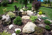 Stinné místo zahrady