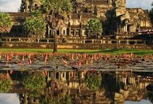 "Cambodia - ZZZ World Ninjas / ""Bucket List Places"" we've visited and would like to visit on our ""Mom & Son Round the World Adventure"""