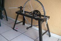 wheels & spindles