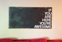 youth room idea / by Melissa Wiebe