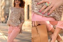 Outfits de tonos cálidos