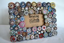 Upcycling Crafts! / Crafts that use recycled items to make something new! Great for an entrepreneurship unit/ earth day/ or art class!