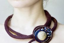 Felted Jewellery