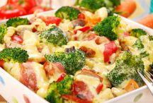 Zapečenými cestoviny s brokolicou