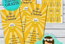 Communion Printables | Imprimibles Comunion / Communion Printables | Imprimibles Comunion