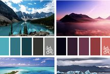 Color Combinations / Color has proven to help in the healing process within healthcare environments.