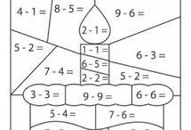 состав числа раскраска