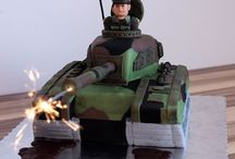 soldier cake