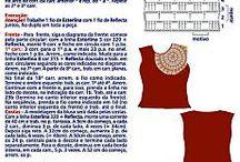 Virkade kläder chrochet / Virkade kläder chrochet chloths